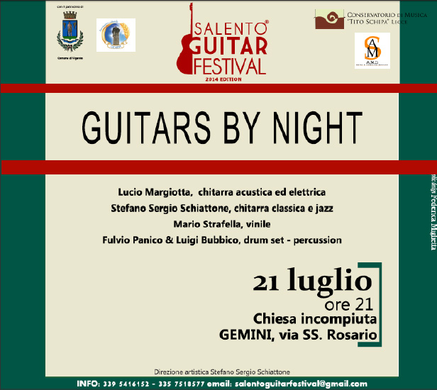 SALENTO GUITAR FESTIVAL 2014 Summer Edition