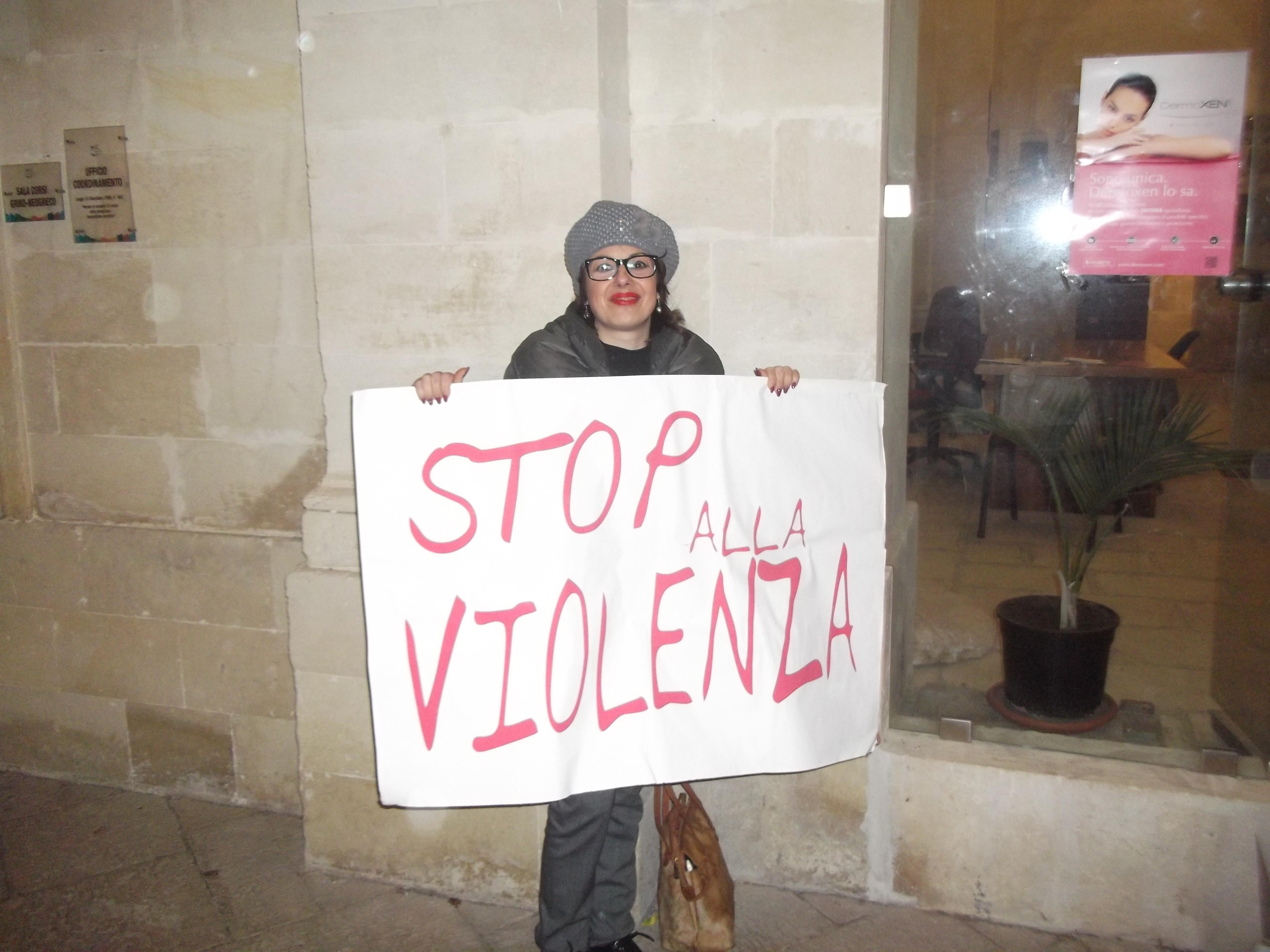 Giornata contro la violenza alle donne.