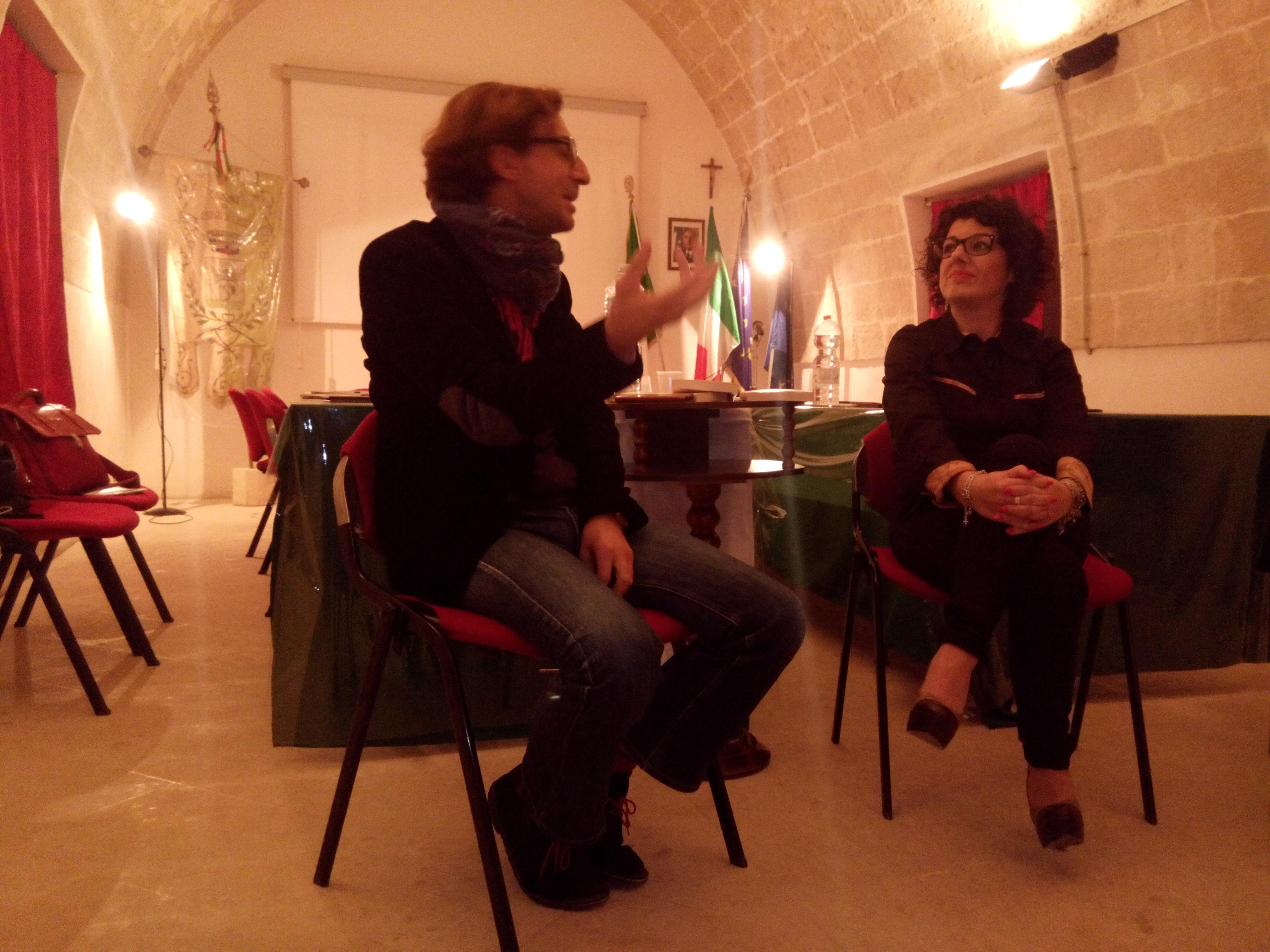 Presentato stasera a Castrì il libro del professore Giancarlo Visitilli:E la felicità prof.