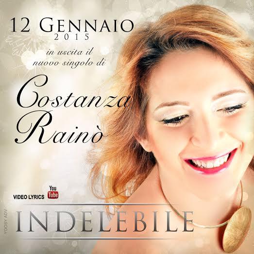 Costanza e il suo nuovo singolo  INDELEBILE