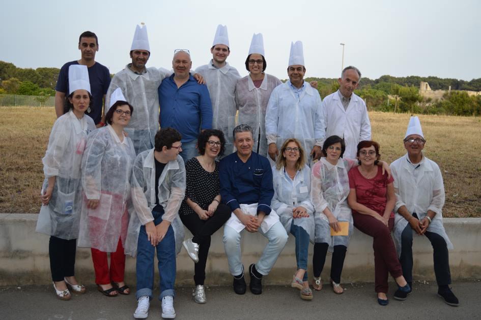 Corso avanzato di cucina all'Istituto Alberghiero di Otranto
