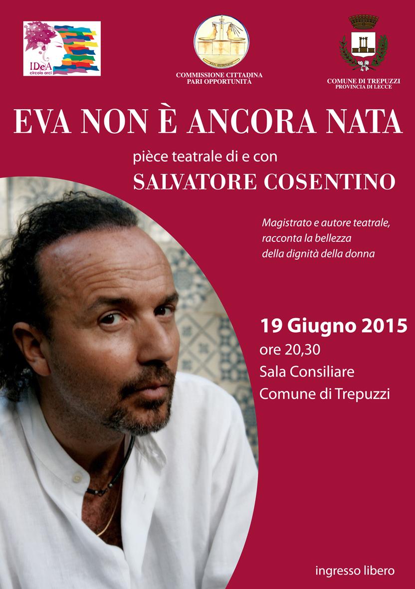 """""""Eva non è ancora nata"""" di Salvatore Cosentino a Trepuzzi"""