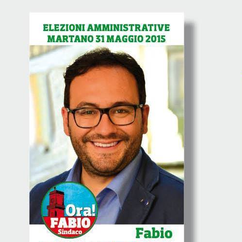 Fabio Tarantino , Sindaco di Martano