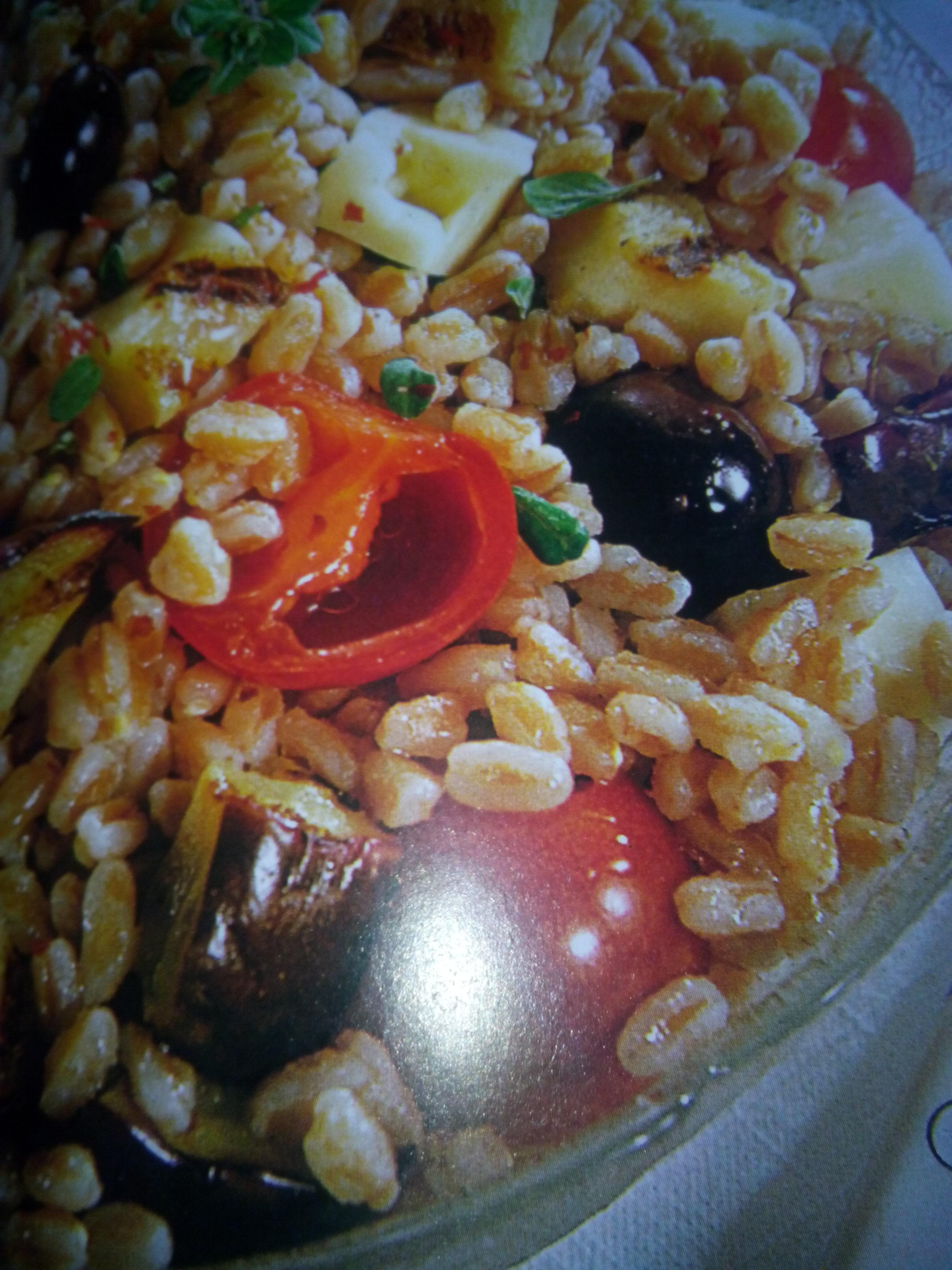 La ricetta del giorno: Insalata di farro e melanzane