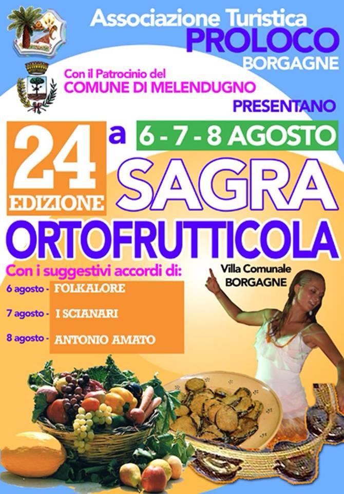 Sagra dell'ortofrutta a Borgagne valorizzate le tipicità