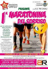 Stamattina a Lizzanello è partita la maratonina del sorriso