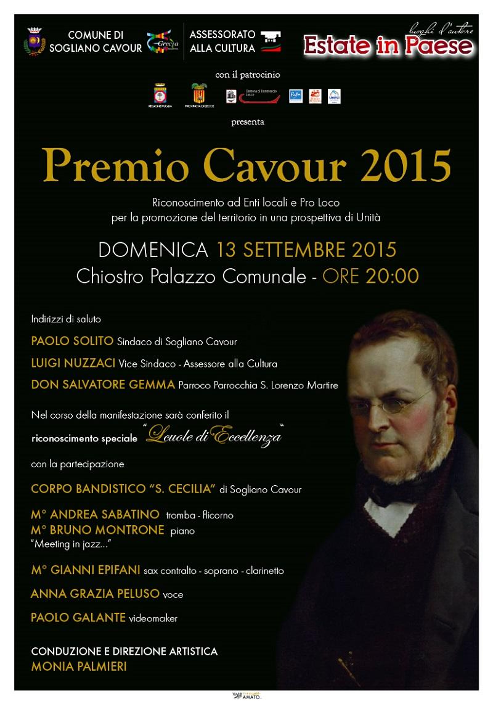 Il Premio Cavour premia Borgagne e l'Istituto Alberghiero di Otranto