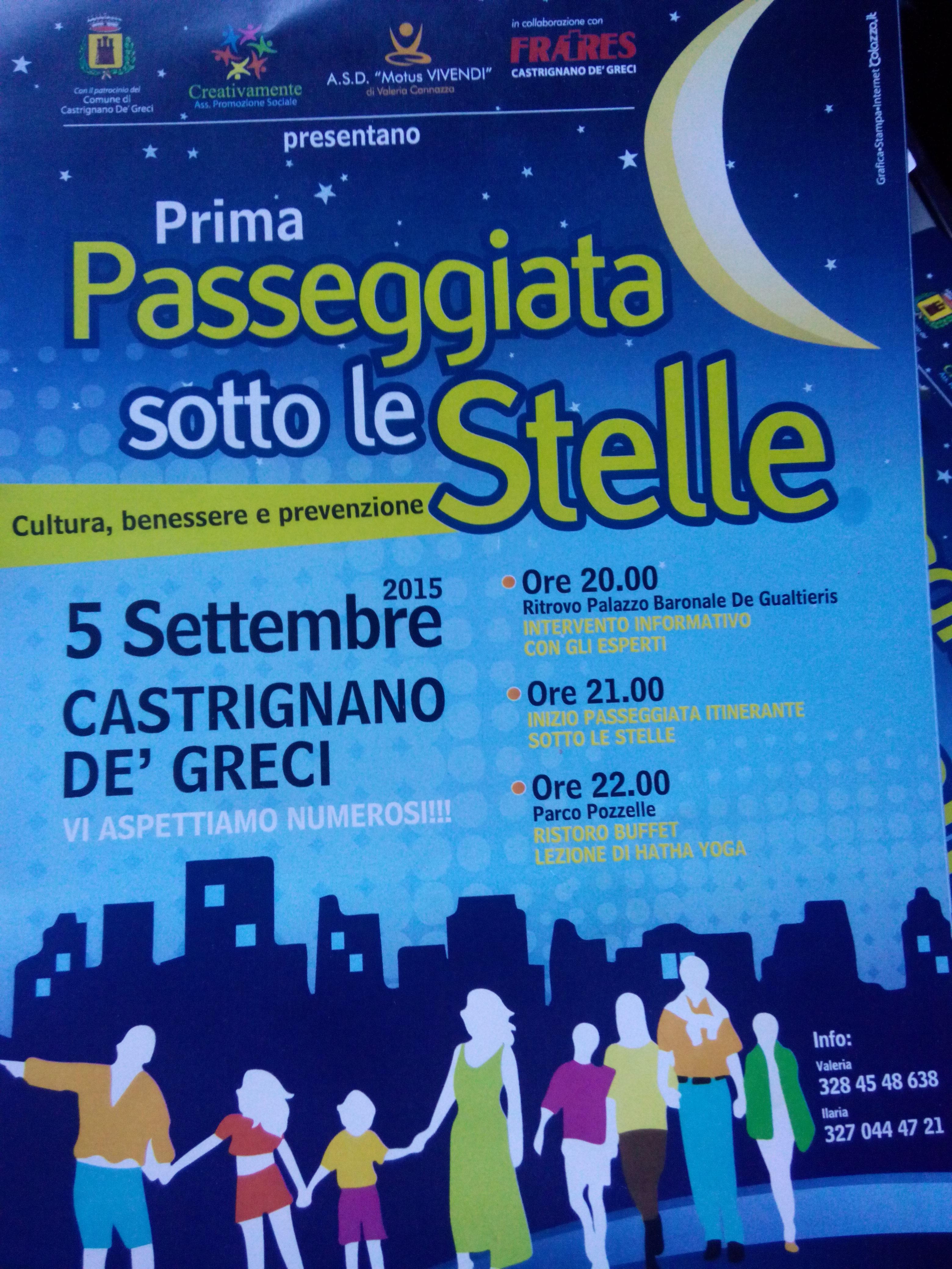 Domani sera a Castrignano de' Greci un evento sulla salute