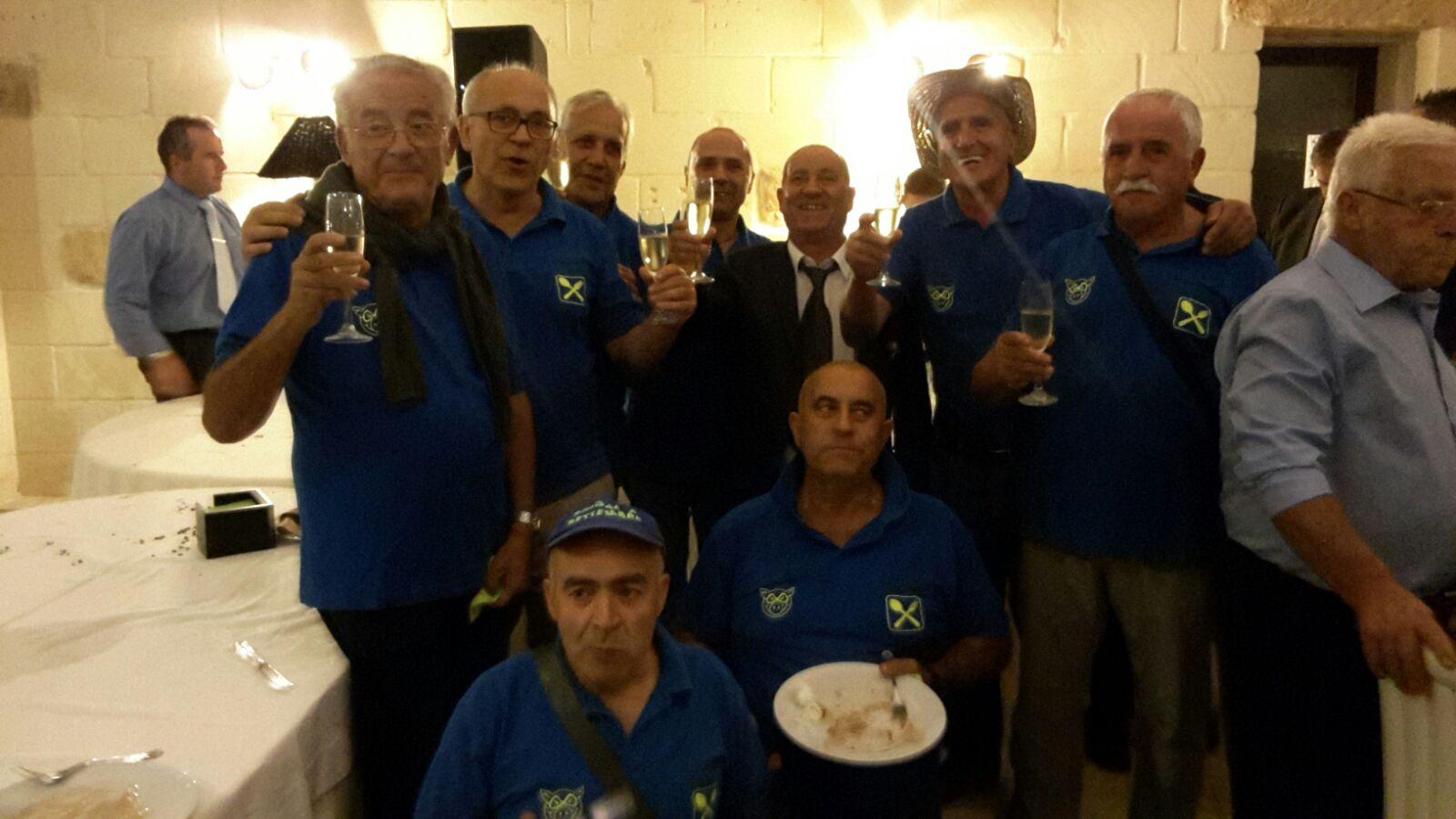 Zingari a settembre il gruppo di Borgagne, in giro per l'Italia. L'avventura comincia.