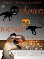 Halloween, la festa della paura al museo di Calimera fra dinosauri a grandezza reale