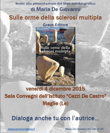 Domani al Cezzi De Castro di Maglie, l'autrice Maria De Giovanni presenta e dialoga con gli studenti
