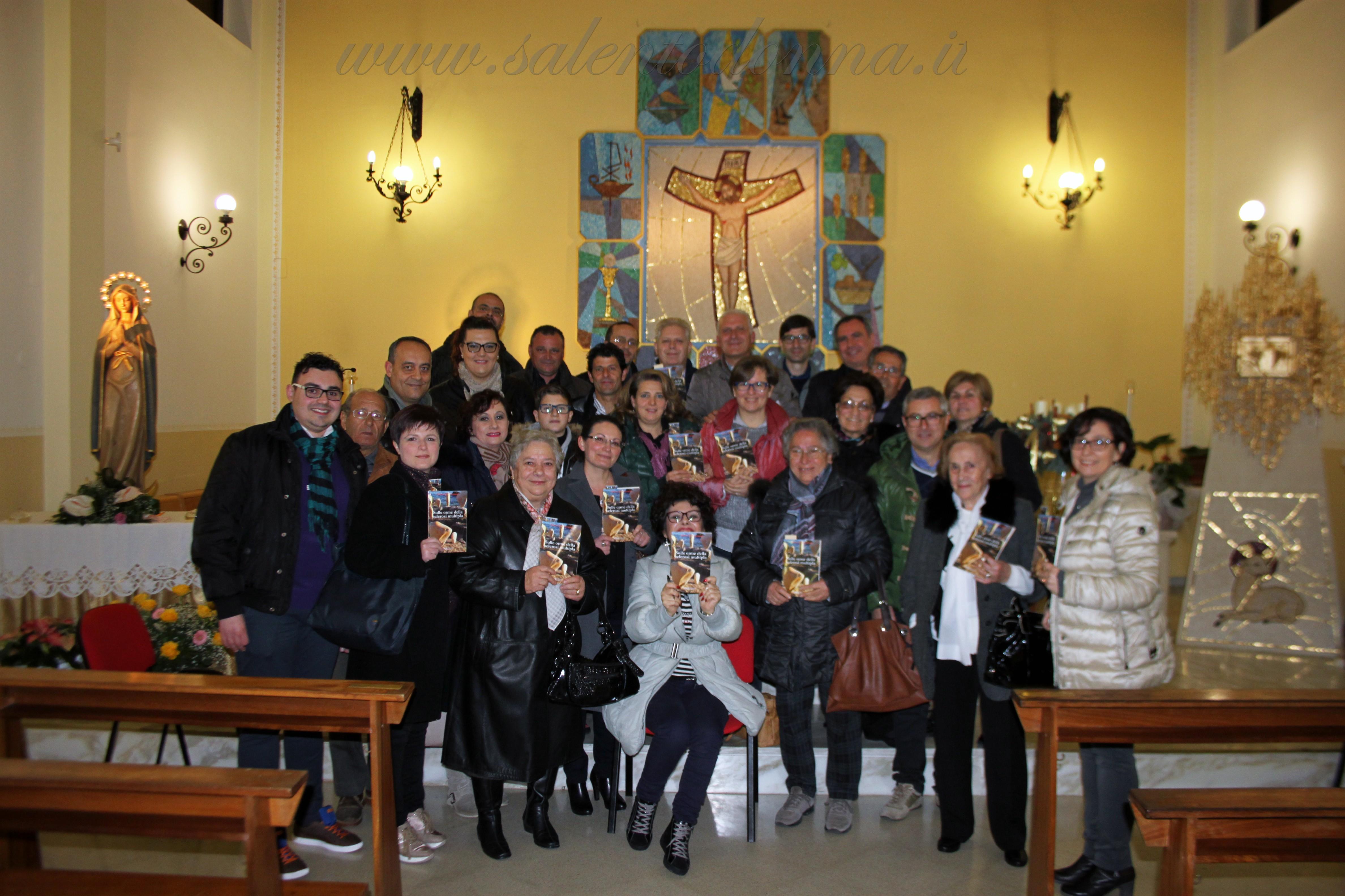 Il libro sulle orme della sclerosi multipla fa tappa nel comune di Minervino di Lecce