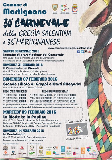Ritorna il Carnevale a Martignano, Accessibile, Popolare, Interculturale, Green.