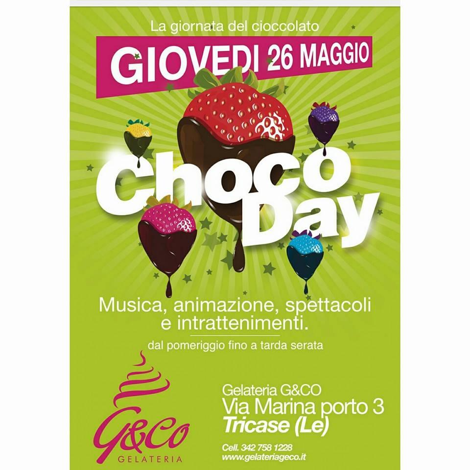 """""""CHOCO-DAY"""" appuntamento a Tricase giovedi 26 per degustare tanta cioccalata"""