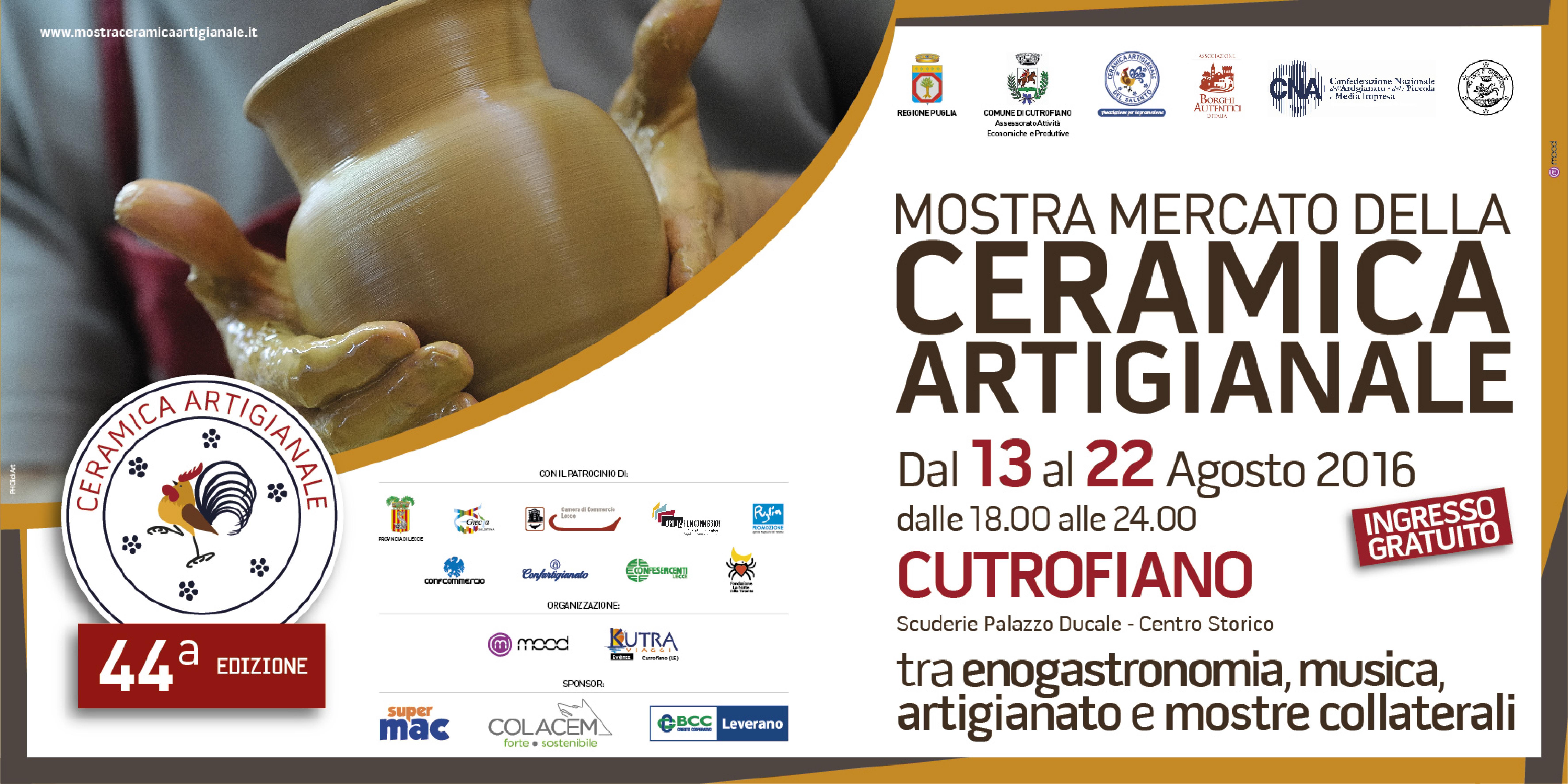 44° Edizione Mostra Mercato della Ceramica Artigianale di Cutrofiano