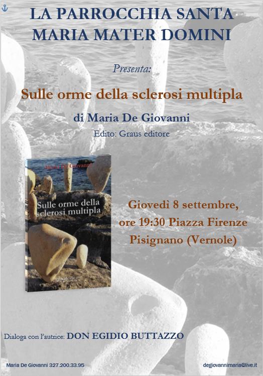 Sulle orme della sclerosi multipla a Pisignano di Lecce, in parrocchia la presentazione