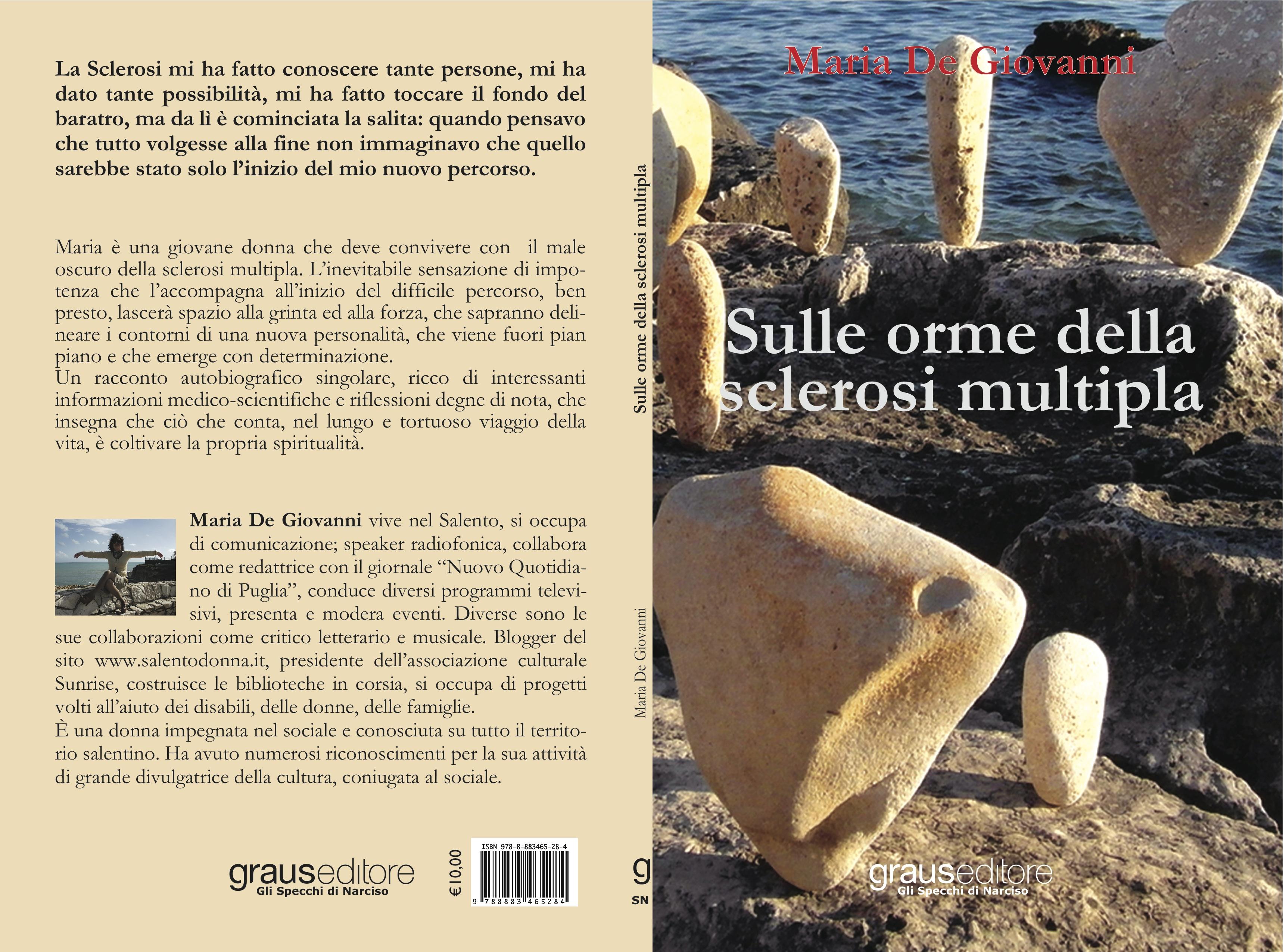 Maria De Giovanni autrice, recita una poesia: io e la mia sclerosi multipla