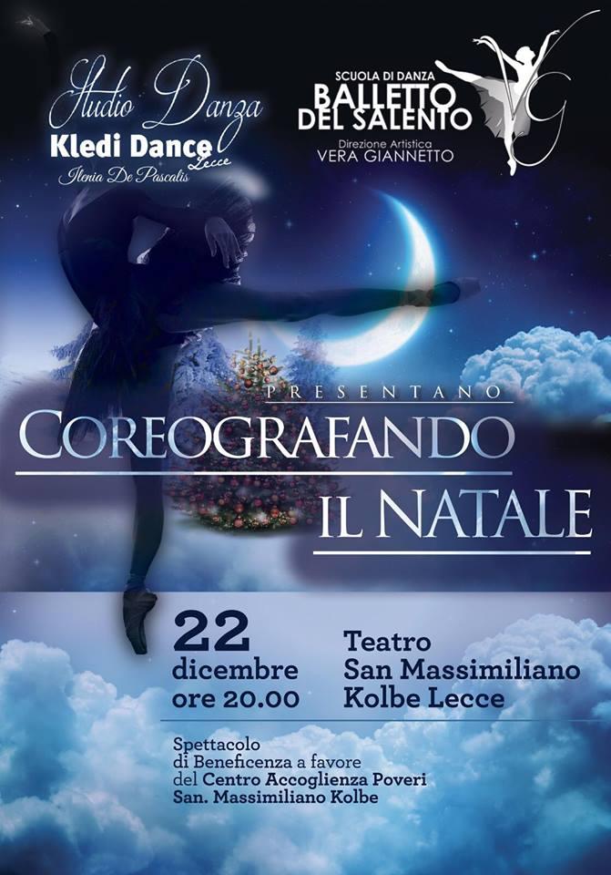 Si balla a NATALE per beneficienza il 22 dicembre a Lecce