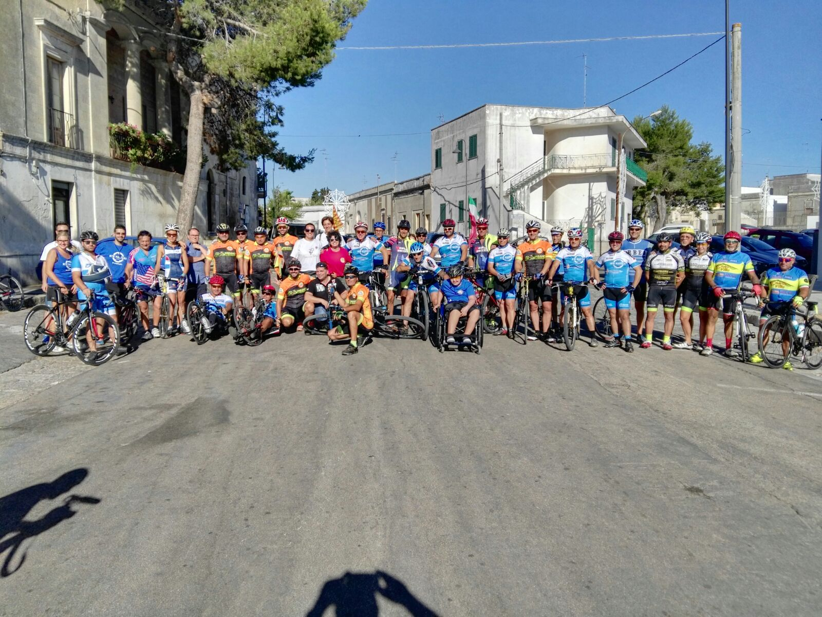 Oltre ogni disabilità, Grecia Salentina Ride oggi a Carpignano Salentino
