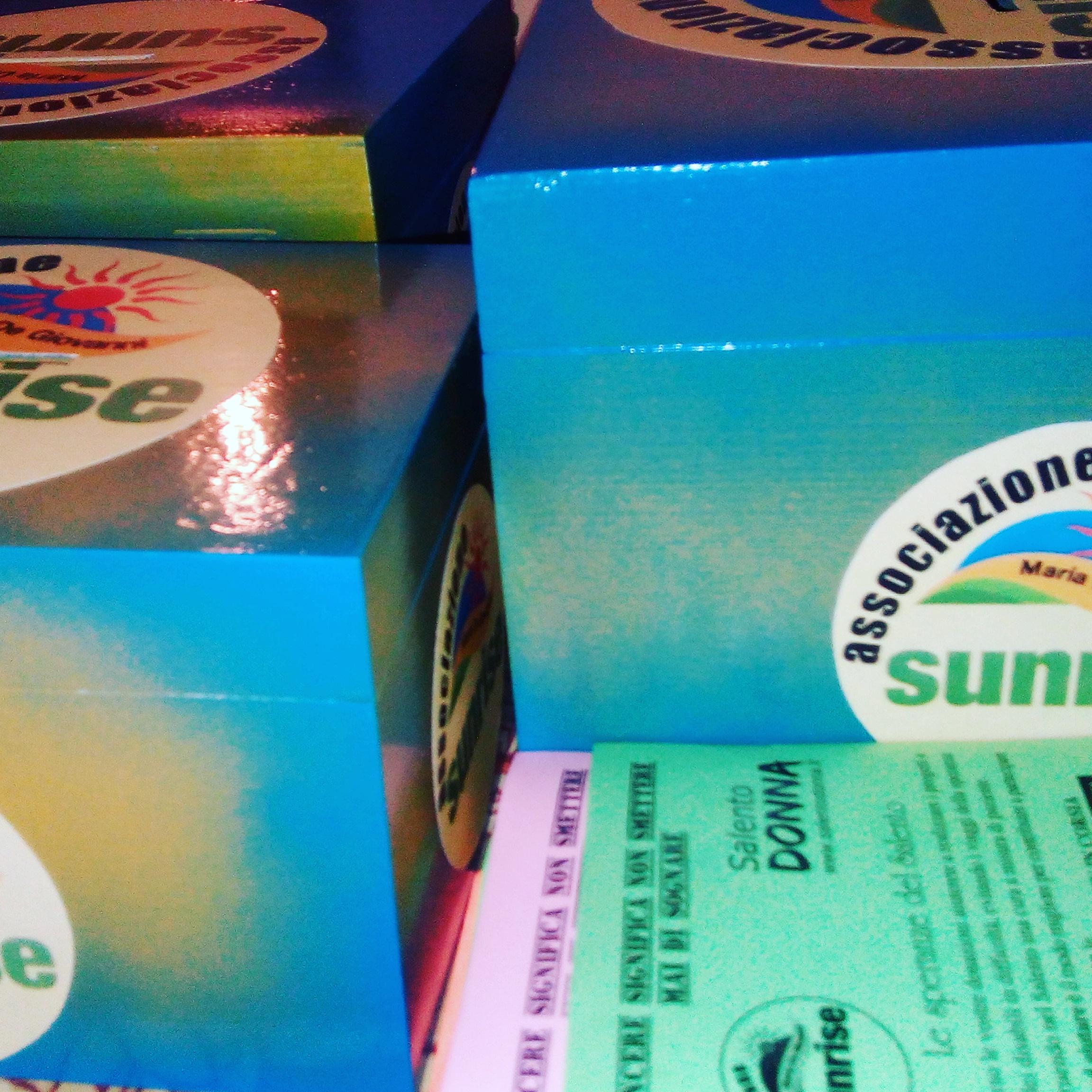 Un geranio per la vita, l'Associazione Sunrise Onlus di Borgagne scende in piazza.