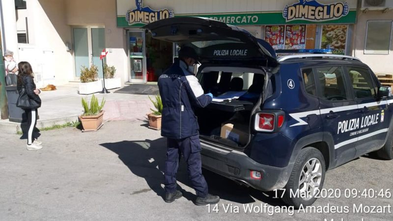 Controlli serrati nel Comune di Melendugno dalla Polizia Municipale