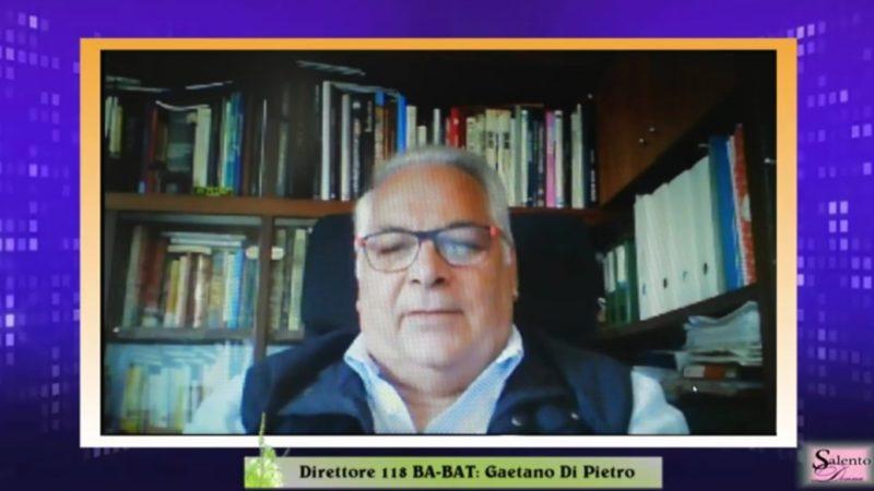 Incontriamo il Direttore  118 BARI e BAT: Gaetano Di Pietro