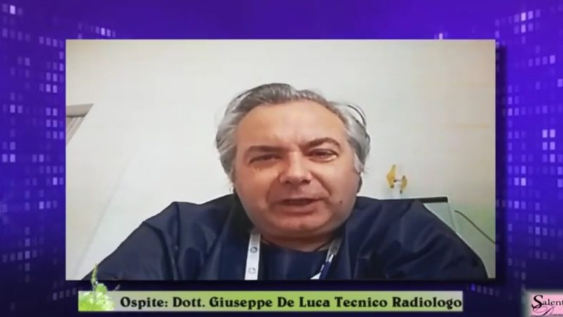 Il tecnico di Bari Giuseppe De Luca che fa le radiografie a domicilio per i malati di Covid-19 –
