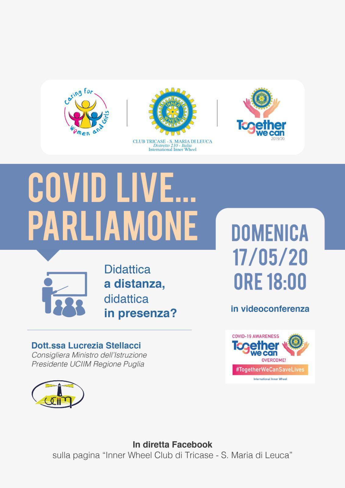 Oggi il dibattito: la Inner Wheel di Tricase-Santa Maria di Leuca in diretta Facebook