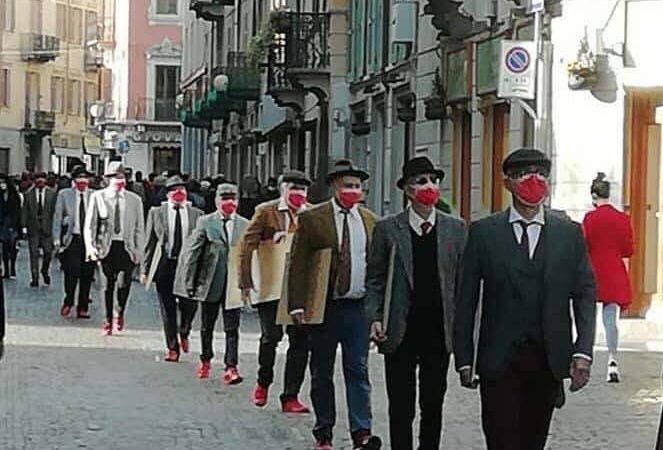 Teresa Chianella Presidente della CPO di Lecce : quest'anno per la giornata dedicata alle donne flash mob maschile .