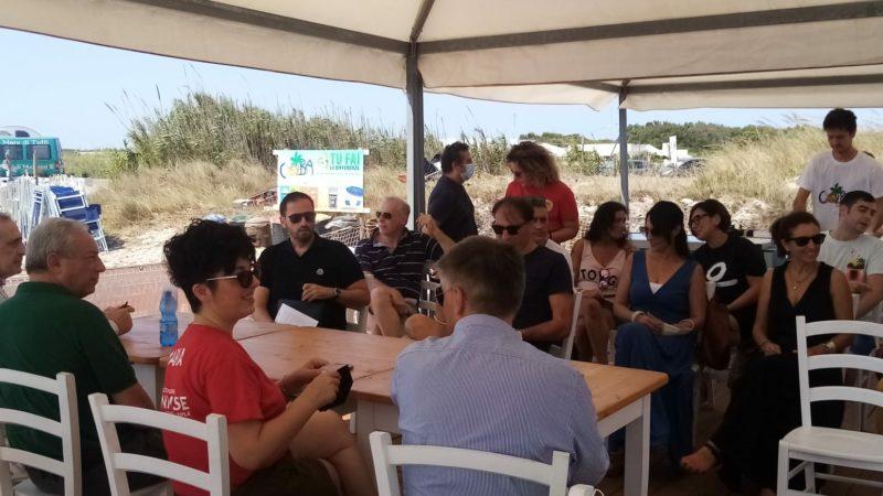 Conferenza del mare di tutti a San Foca